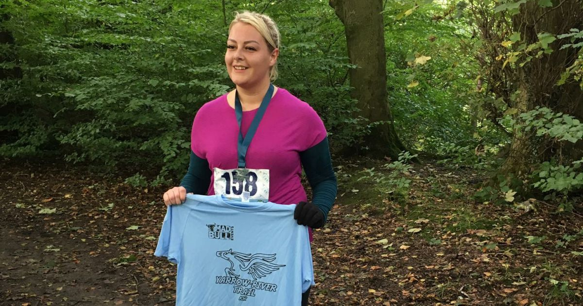 Jennifer Moss achieves new goals and appears in the Chorley Guardian